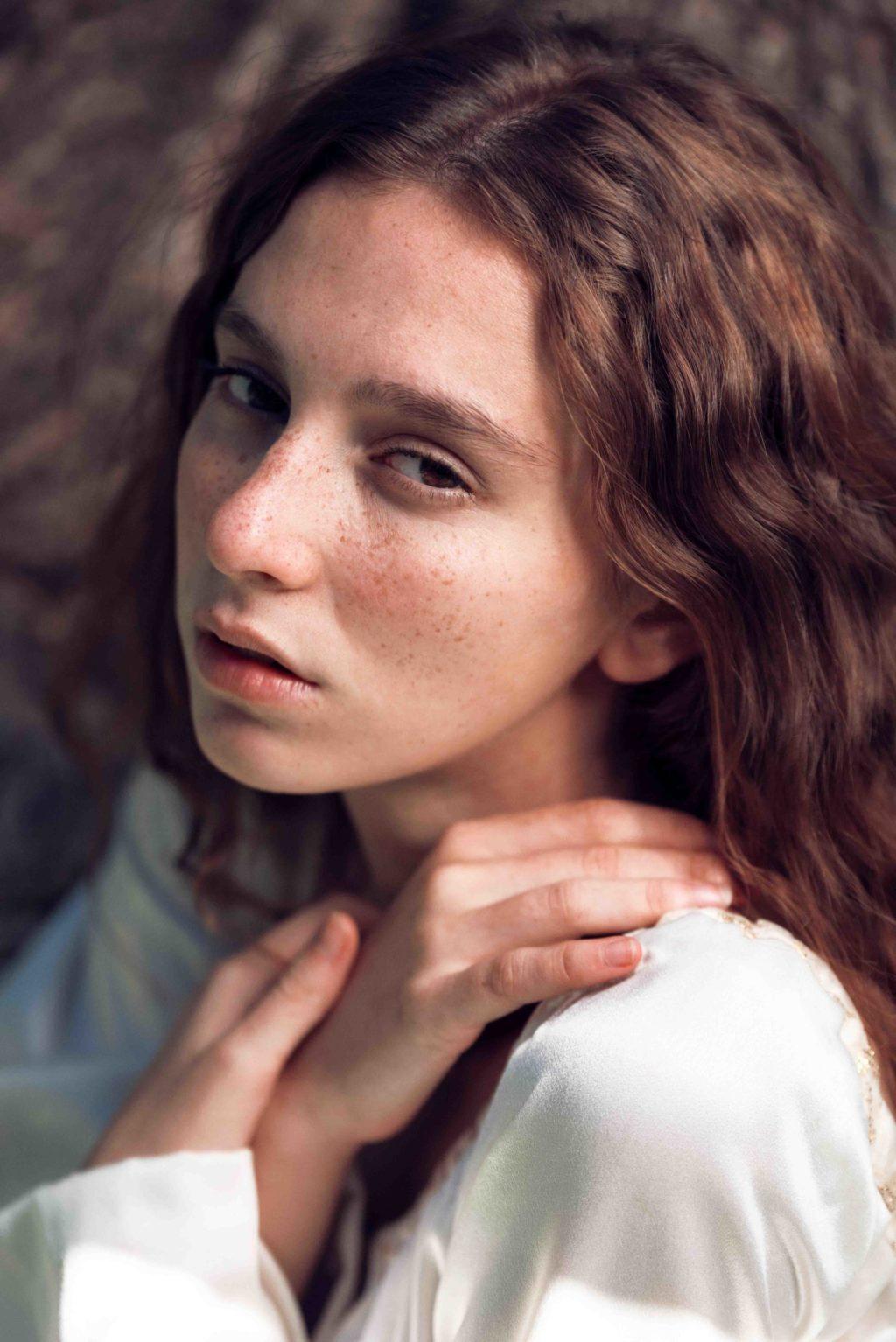 girl, portrait, creative