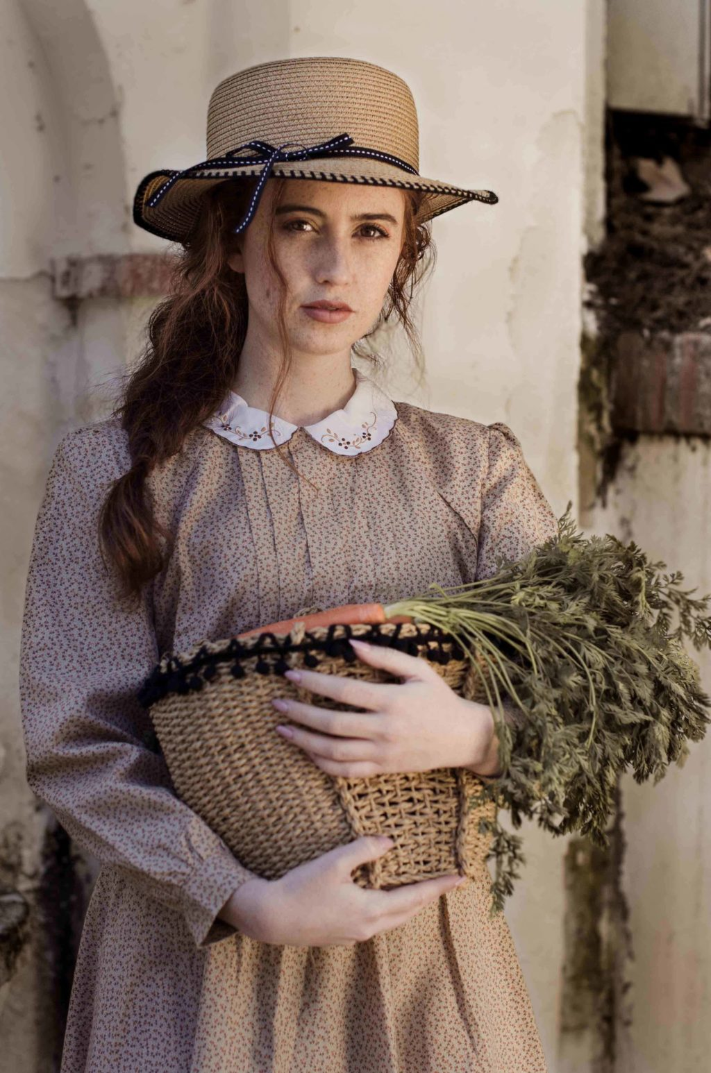 carrot, vintage, woman, model ,picture, photo, photography
