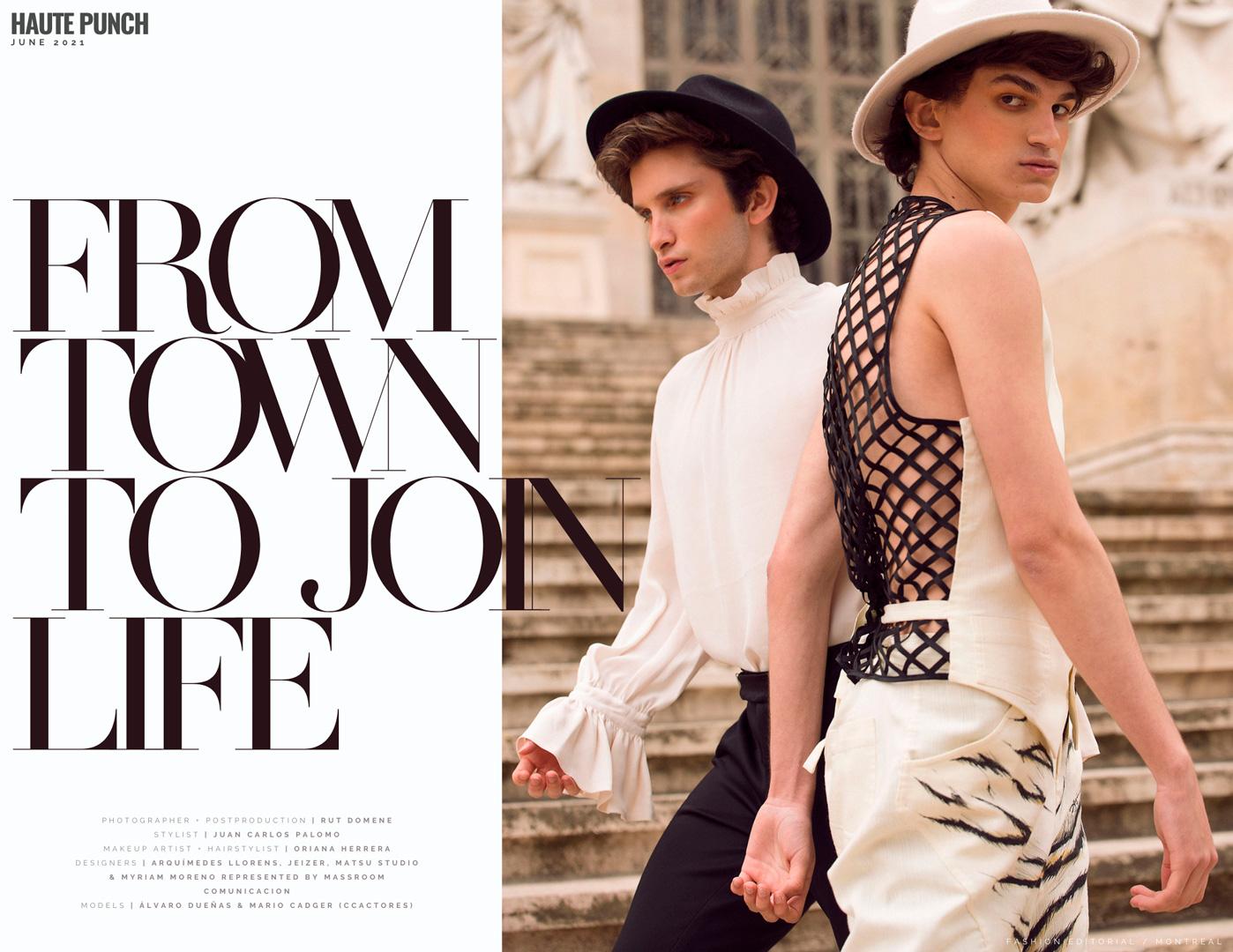 fashion male model magazine